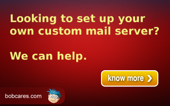 Get Bobcares assistance to configure your mail server