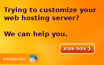 Customize your web server with Bobcares assistance
