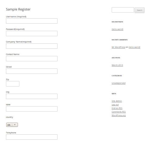 Sample-Register
