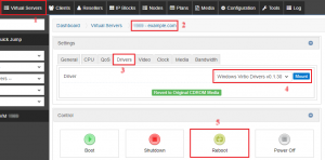 Mounting Drivers to SolusVM KVM VPS
