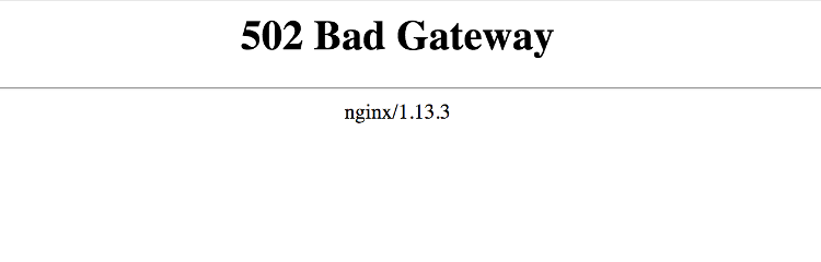 502 bad gateway in Nginx: Top 5 reasons for it, & how to resolve