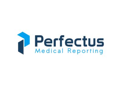 Blue-medical-letterform-abstarct