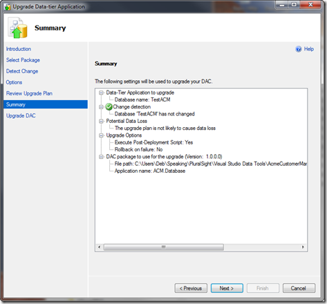 How to deploy DACPAC with SQL Server Management Studio