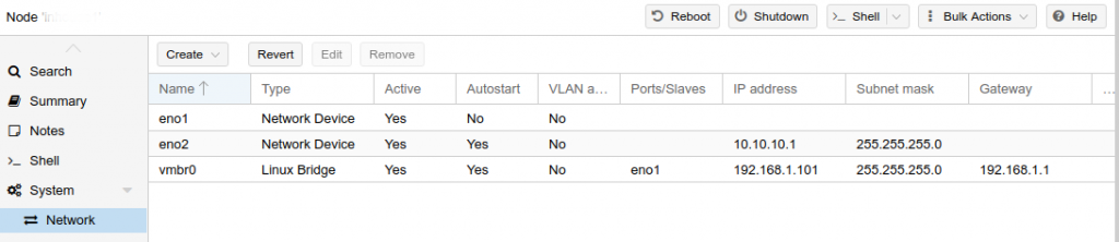 Proxmox VLAN Bridge – How to setup it in a jiffy - Internet