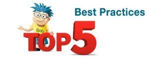 Top 5 Practices