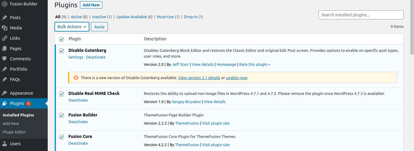 Wordpress error 429 Too Many Requests