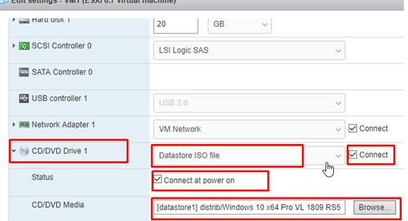Virtual Machine in VMWare