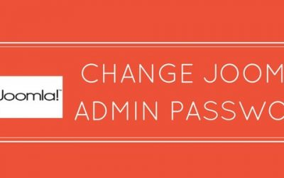 3 ways to easily change Joomla admin password