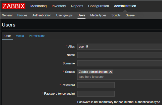 Zabbix: Single Sign-On (SSO) Authentication in Active Directory