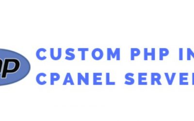 How to enable custom php ini in cPanel servers with suPHP using EasyApache 4