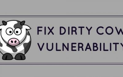 How to fix Dirty Cow vulnerability in CentOS, RedHat, Ubuntu, Debian, CloudLinux and OpenSuse Linux servers