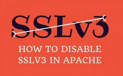 How to disable Apache SSLv3 protocol for your web server security