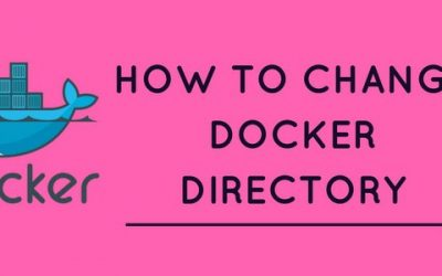 How to change Docker directory