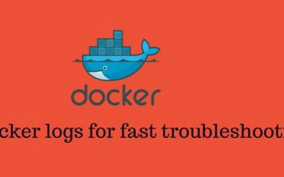 Docker container logs for quick troubleshooting