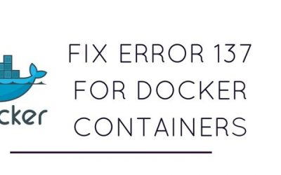 How to prevent Docker containers crashing with memory error 137