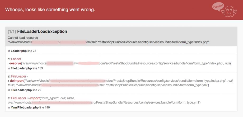 FileLoaderLoadException error - Top 2 fixes