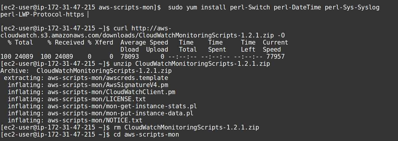 Install CloudWatch