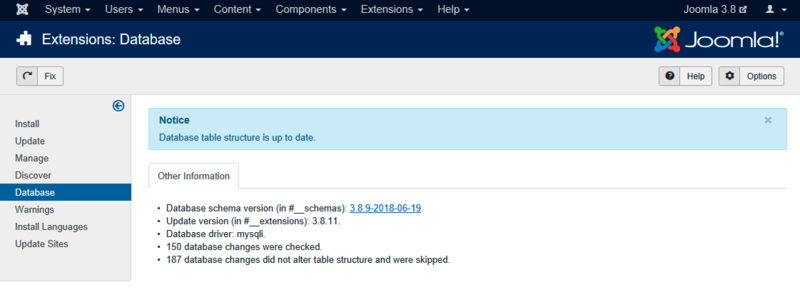 How to quickly fix Joomla error 1054 ?