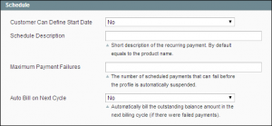 magento paypal recurring payments
