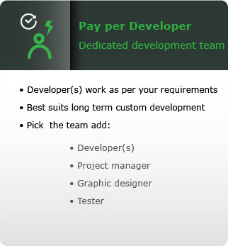 pay per developer