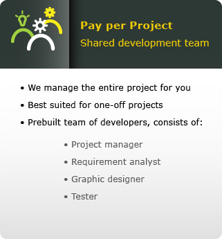 Pay per project