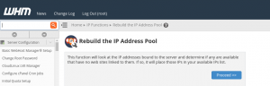 whm multiple shared ip addresses