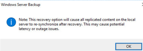restore active directory from backup
