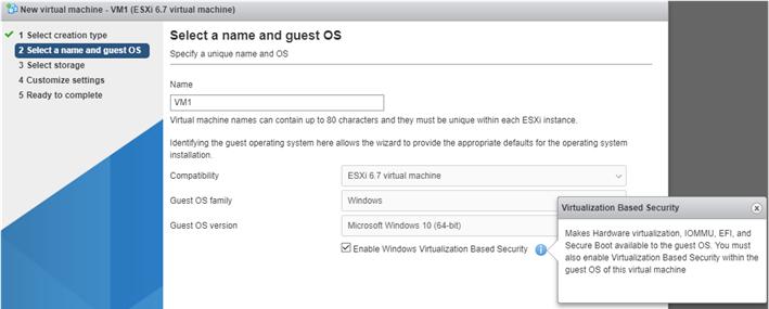 Virtual Machine in VMWare Hypervisor