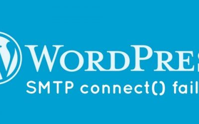 How to fix email error 'SMTP connect() failed' in WordPress sites