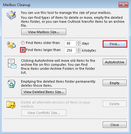 how to resolve Outlook error 0x8004060C