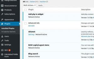 speed up wordpress site plugins