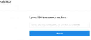 Here are the steps to build a Vultr instance from custom ISO