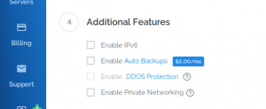 How to enable IPv6 on a Vultr instance without losing network